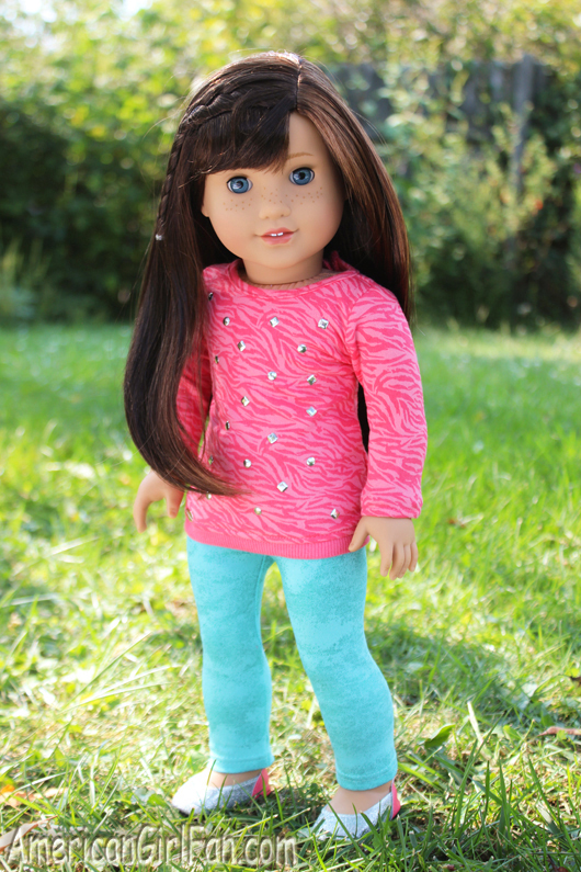 Grace Cool Coral American Girl Outfit