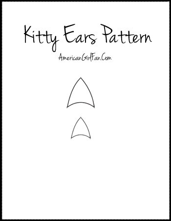 Kitty Ear Pattern