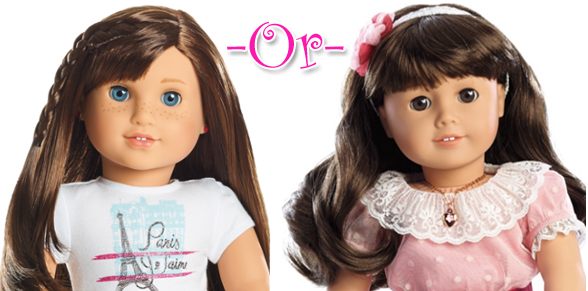AmericanGirlFan This Or That - Doll hairstyles for grace
