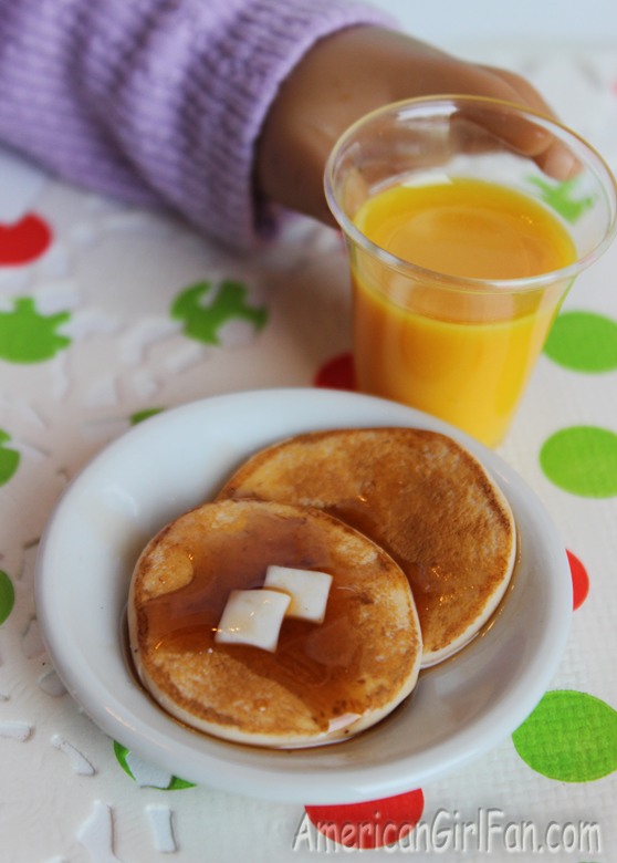 American Girl Doll Pancakes By Ann's AG Miniatures