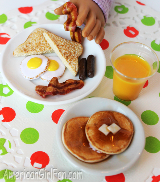 American Girl Doll Breakfast Food By Ann's AG Miniatures