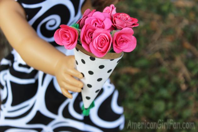Grace Doll Flower Bouquet