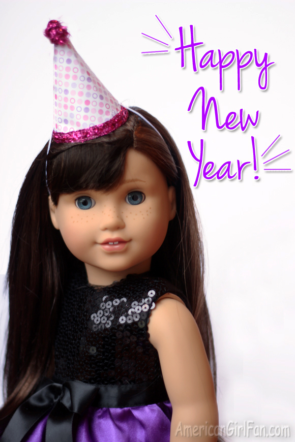 Grace Thomas American Girl Doll Happy New Year 2016 1