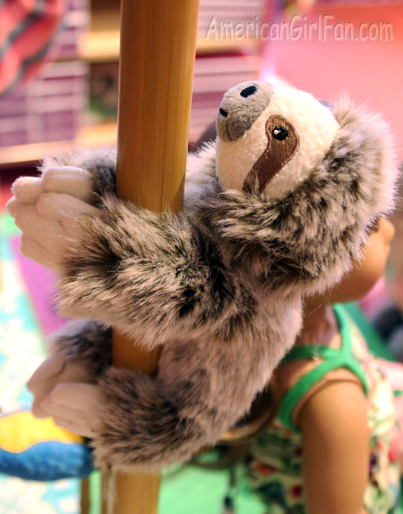American Girl Doll Three-toed Sloth