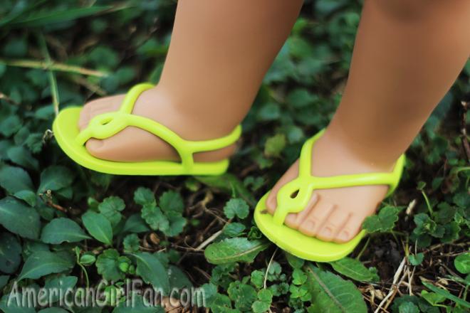 Hair Clip Sunglasses NEW American Girl Lea Beach Dress Purple Dress Sandals