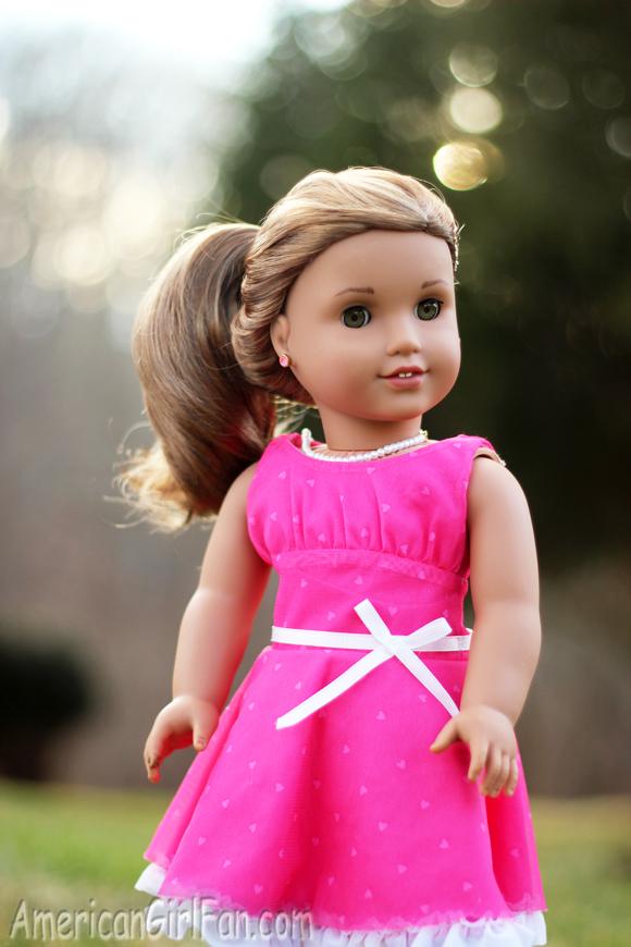 Wondrous Lea39S Cute Amp Easy Hairstyles Americangirlfan Hairstyle Inspiration Daily Dogsangcom