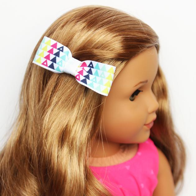 American Girl Doll Hair Bow