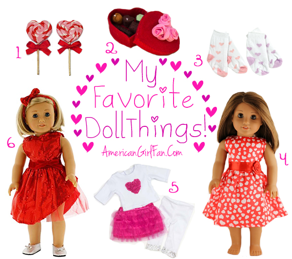 Favorite Doll Things Valentine's Day
