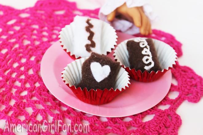 American Girl Doll Chocolate Craft