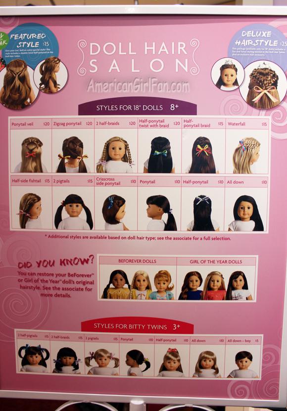 Doll Hair Salon Sign