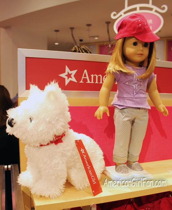 American Girl Doll Plush Coconut Dog