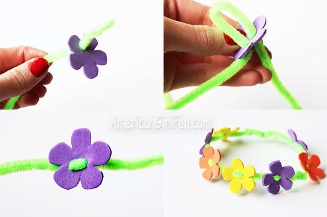 Steps To Make Doll Flower Crown