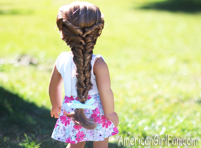 American Girl Doll Faux Fishtail Braid Tutorial