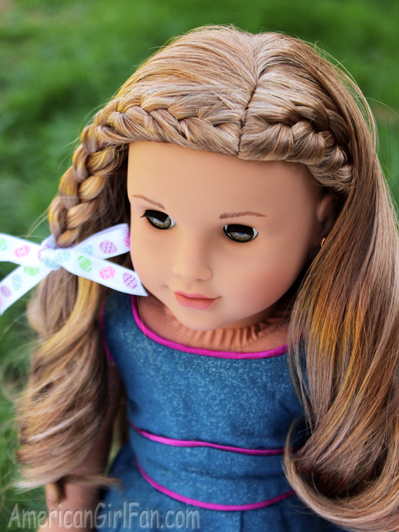 Braided Doll Hairstyle For Easter Americangirlfan