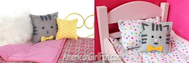 American Girl Doll Cat Pillow Craft