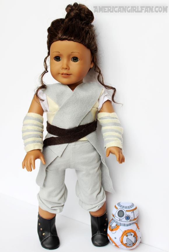 American Girl Doll Rey Star Wars Costume