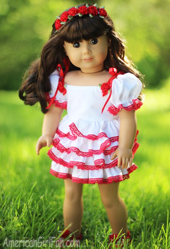 Frilly Frillz Etsy Shop American Girl Doll Dress