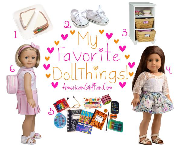 American Girl Fan Favorite Doll Things 57
