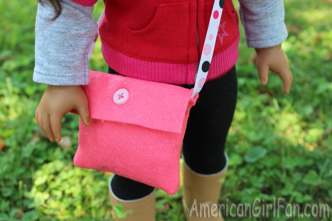 American Girl Doll Messenger Bag