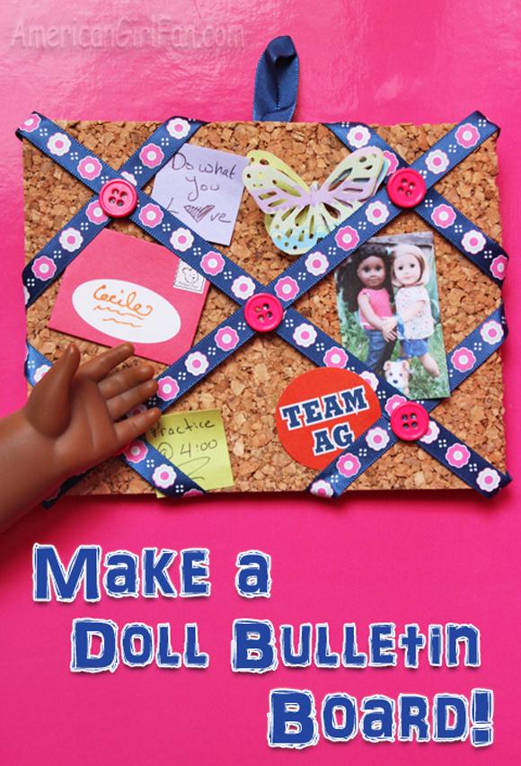 American Girl Doll Bulletin Board