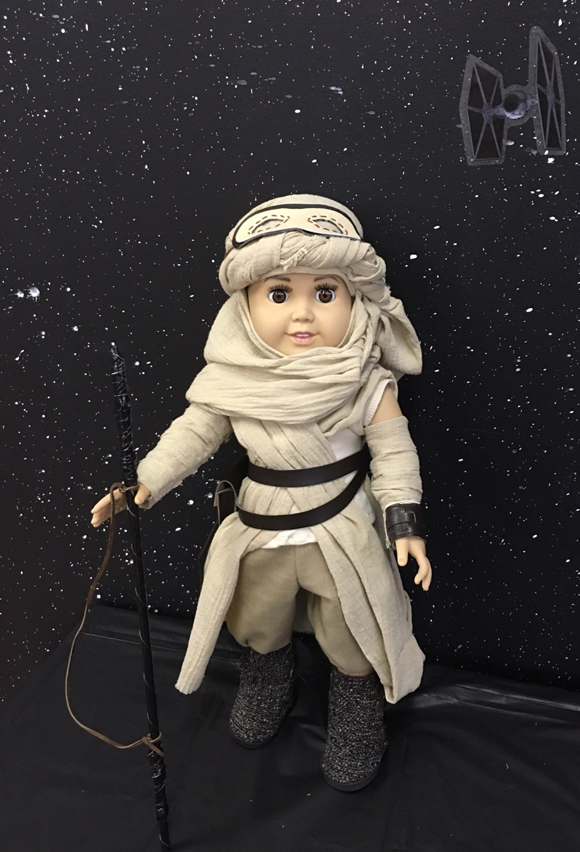 Star Wars American Girl Doll Costume