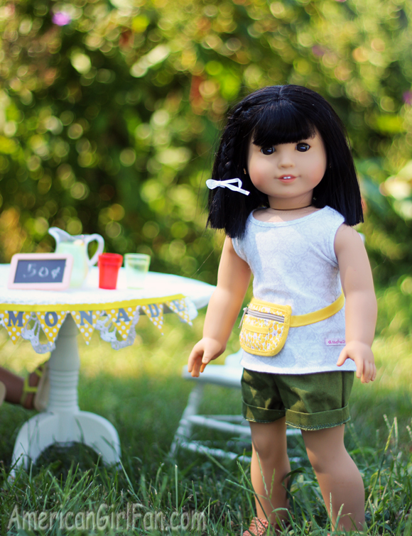 American Girl Doll Lemonade Stand