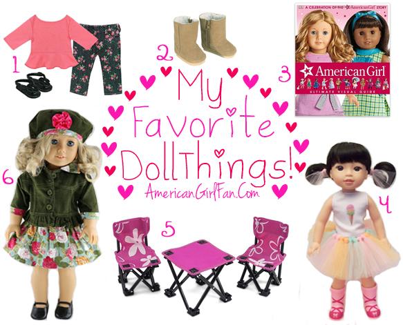 American Girl Fan Favorite Doll Things Week 63