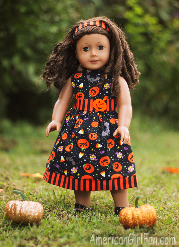 American Girl Doll Halloween Dress Giveaway