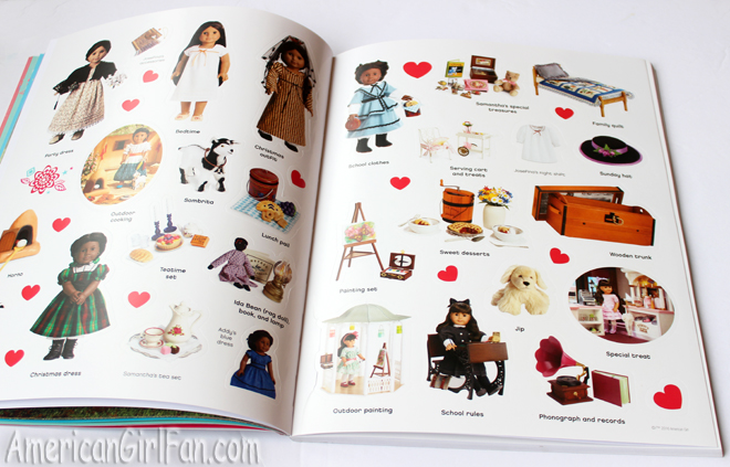 American Girl Ultimate Visual Guide and Ulimate Sticker Collection