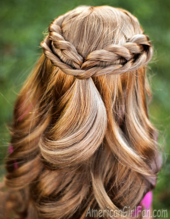Doll Hairstyle Fabulous HalfUp Twists AmericanGirlFan - Hairstyles for dolls with long hair
