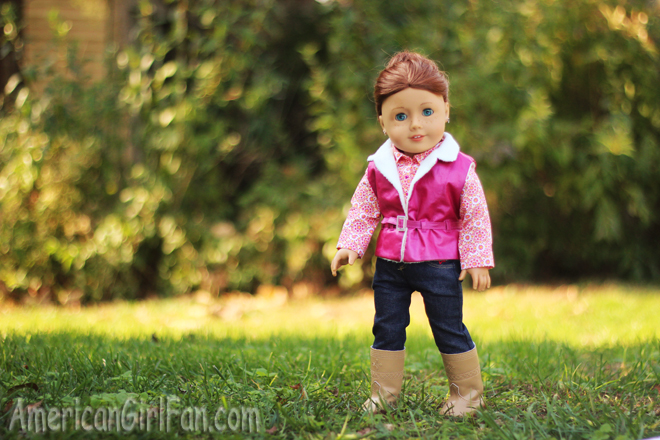 American Girl Doll Thanksgiving Hairstyle