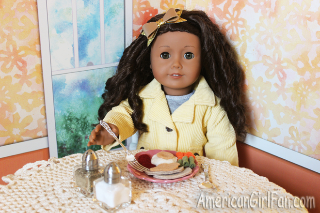 American Girl Doll Thanksgiving Food