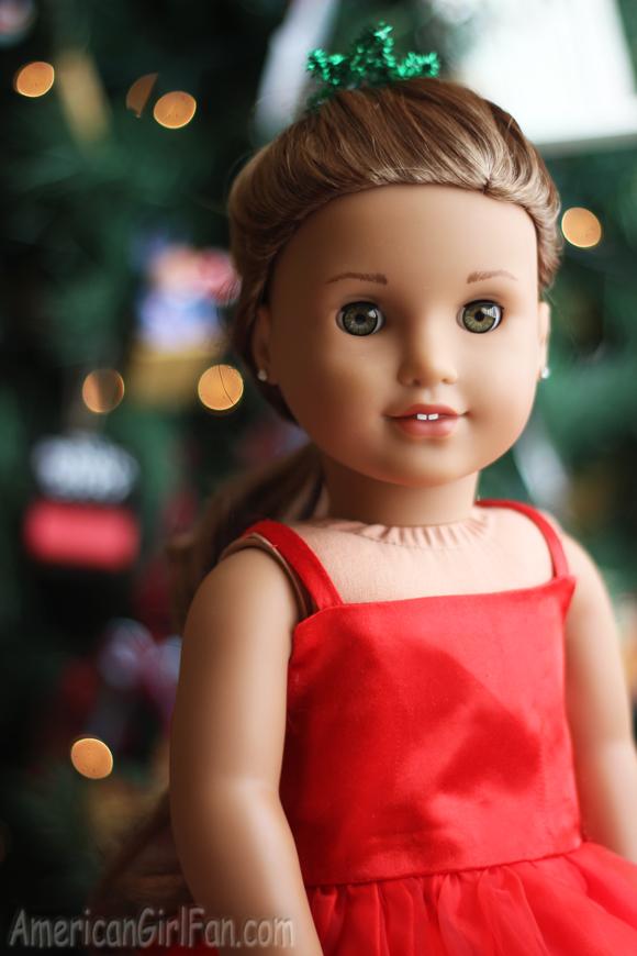 American Girl Doll Hairstyle Christmas Tree Pull Through Braid