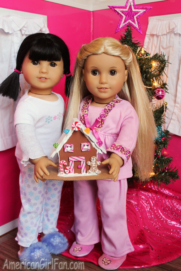 American Girl Doll Craft Gingerbread House