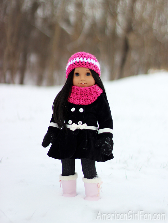 American Girl Doll Snow Day