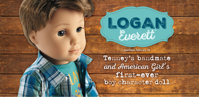 Logan Everett Boy Doll