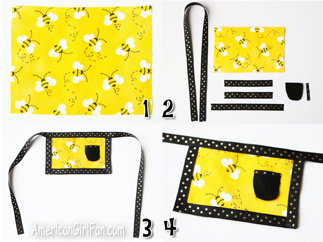 How To Make A No Sew Skirt Apron For Wellie Wishers