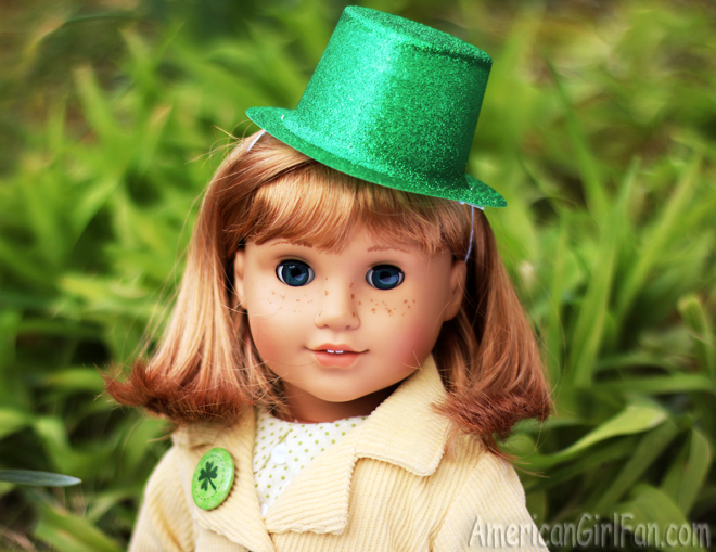 American Girl Doll Nellie St. Patrick's Day