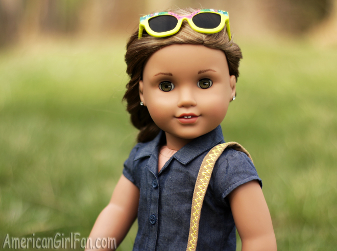 American Girl Doll Hairstyle Floral Braid