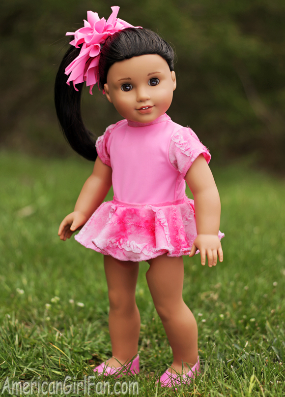 American Girl Doll Dance Leotard & Skirt Outfit
