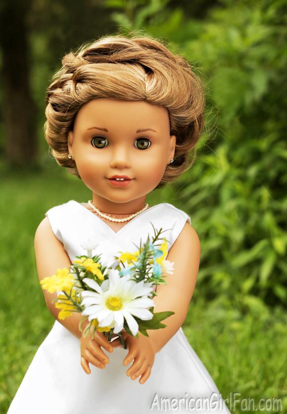 American Girl Doll Hairstyle Circle Braid