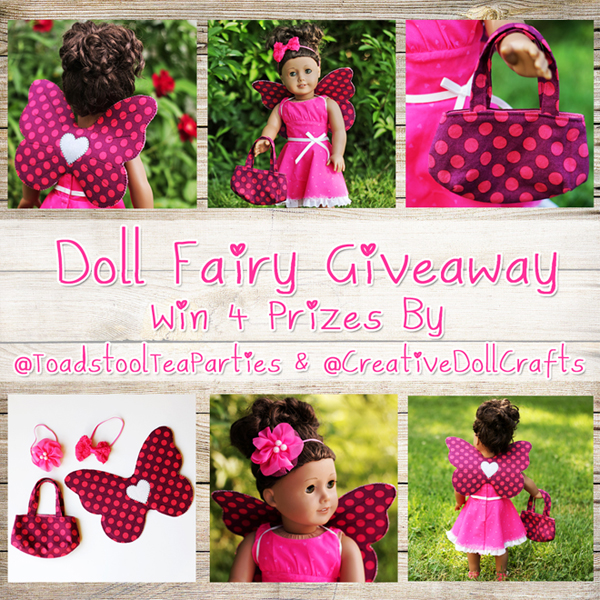 Toadstool Tea Parties Etsy Shop Giveaway