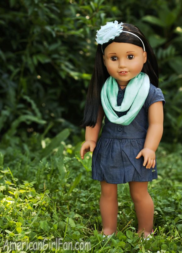 American Girl Doll Infinity Scarf