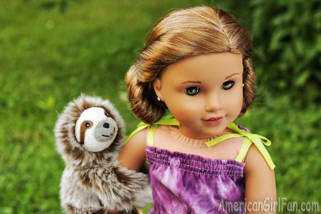 American Girl Doll Hairstyle Low Mini Buns