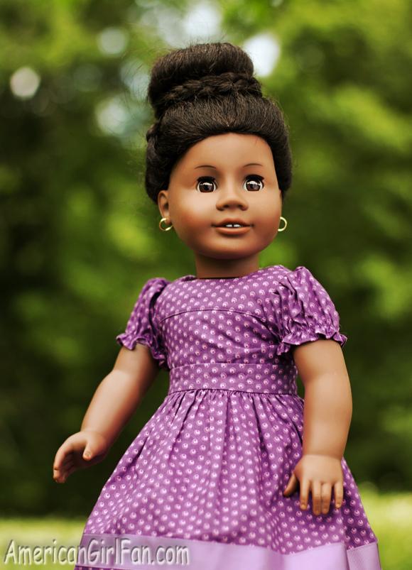 Doll Hairstyle Wraparound Braided Bun Americangirlfan