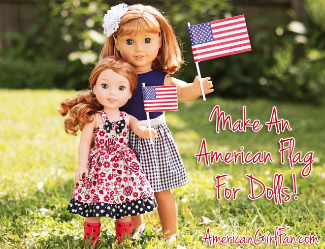American Girl Doll Craft American Flag