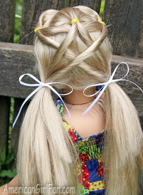 4th of July American Girl Doll Hairstyles & Hair Accessory ...