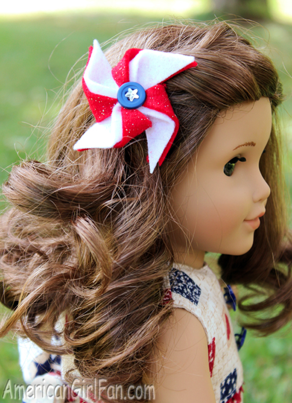 Th Of July American Girl Doll Hairstyles Hair Accessory Ideas - American girl doll hairstyle ideas