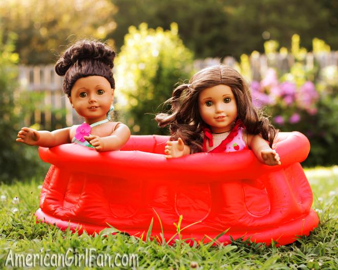 American Girl Doll Pool