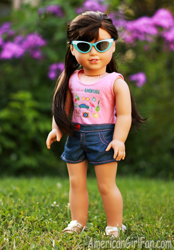 American Girl Doll Hairstyle Easy Ponytail Veil